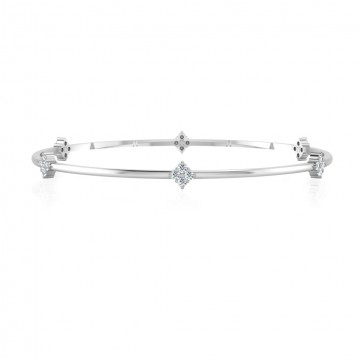 The Jeronia Diamond Bangle