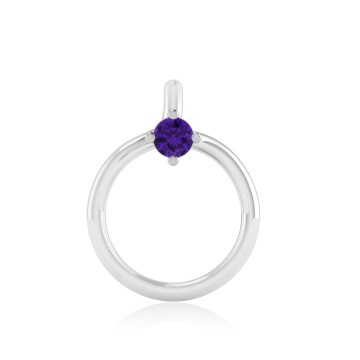 The Idoltary Amethyst Nose Pin