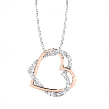 The Heart Silver Pendant