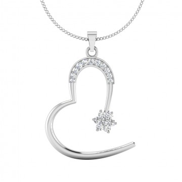 The Affianced Silver Pendant