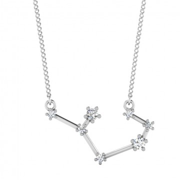 The Sagittarius Zodiac Diamond Pendant