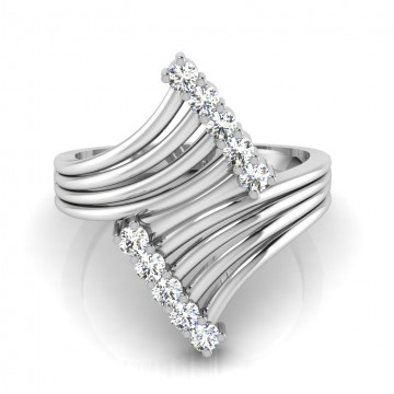 The Bloom Silver Ring