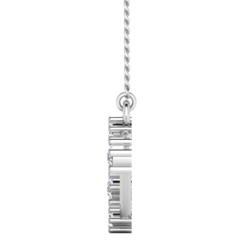 The Aries Zodiac Diamond Pendant