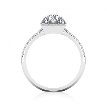 The Peora Solitaire Ring