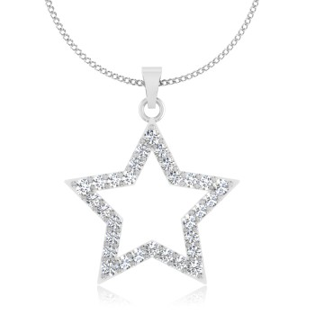 The Astral Star Diamond Pendant