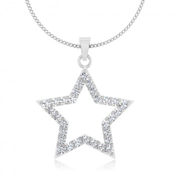 The Astral Star Silver Pendant