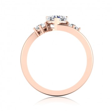 The Amore Heart Solitaire Ring